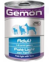 Gemon Dog Light (паштет тунец 400г)